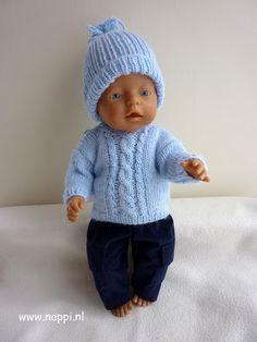 513 Beste Afbeeldingen Van Baby Born Kleedjes Breienhakennaaien