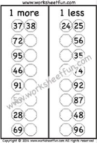 Addition – 1 More / FREE Printable Worksheets – Worksheetfun Worksheets For Class 1, First Grade Math Worksheets, Free Printable Math Worksheets, Handwriting Worksheets, Free Printables, Classroom Labels, Math Classroom, Educational Activities For Kids, Math Activities