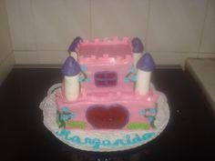 Bolo Castelo das Princesas