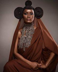 african fashion is high fashion African Hairstyles, Afro Hairstyles, Black Girls Rock, Black Girl Magic, African Beauty, African Fashion, My Black Is Beautiful, Beautiful People, Skin Girl