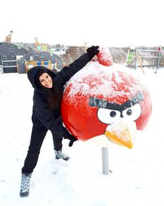 Mighty Eagle's theme song #AngryBirds  Location  #Rovaniemi  Photo  @ftbletsas