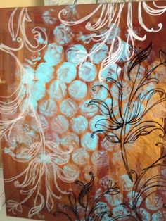Reverse Paintings on glass