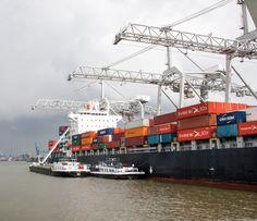 laden en lossen van containerships (fjh)