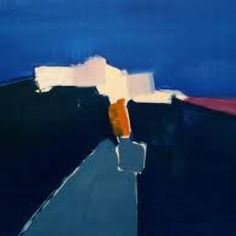 #Oil #Painting - supposedly by Nicolas de Stael, but I see no proof of this.