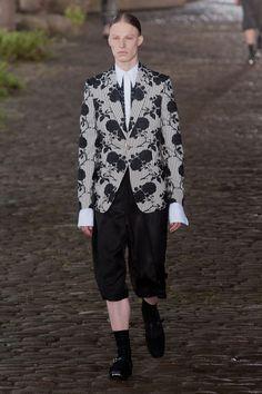 Défile Alexander McQueen Homme Printemps-été 2014, Londres #londonfashionweek #LFW