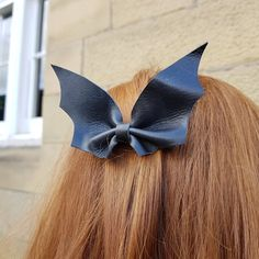 Halloween Hair Clips, Halloween Outfits, Halloween Costumes, Pretty Braids, Little Girl Hairstyles, Hair Barrettes, Uk Shop, Hair Color, Black Leather
