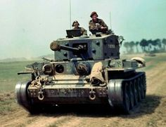 Canadian Cromwell tank - south of Caen - Normandy june 1944 - pin by Paolo Marzioli