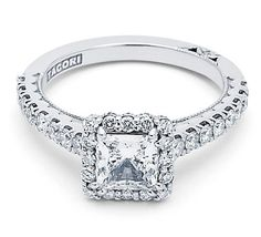 I heart this ring from TACORI! Style no: 372PR55W