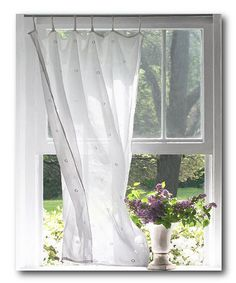 This Flower at the Window Wrapped Canvas is perfect! #zulilyfinds