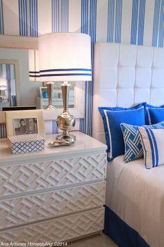 Home-Styling: PORTFOLIO - Cobalt Blue Bedroom