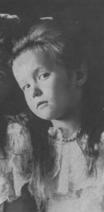 """Family nicknames for Anastasia were """"Malenkaya,"""" """"little (one),""""  or """"shvibzik,"""" the word for """"imp.""""   Living up to her nicknames, young Anastasia grew into a vivacious and energetic child, with blue eyes and strawberry-blonde hair. Margaretta Eagar, a governess said one person commented that the toddler Anastasia had the greatest personal charm of any child he had ever seen.    While often described as gifted and bright, she was never interested in the restrictions of the school room,"""