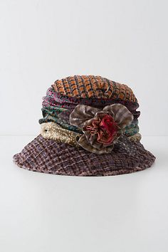 fd05e3fe2bd Blooming Medley Hat at Anthropologie. I love how it looks all vintage! Hat  Boxes