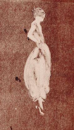 French fashion illustrator Aurore de La Morinerie, Paris.