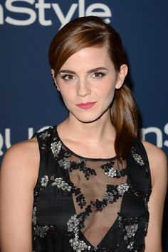 Emma Watson - 2014 InStyle and Warner Bros. Golden Globe Awards Post-Party (Jan. 12)