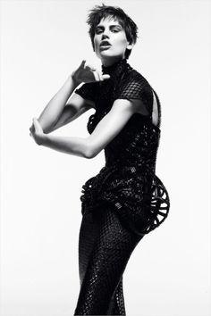 Saskia de Brauw by Daniel Jackson for Vogue Germany November 2012