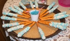 Candy Coated Pretzel Rods