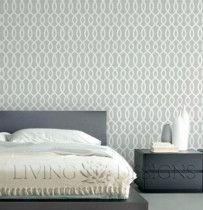 Plantilla Decorativa. Pinta y decora tus paredes! Fácil de aplicar y retirar, solo necesitas pintura y rodillo.