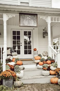 Fall Porch Steps Farmhouse Fall Porch StepsFall Down Fall Down may refer to: Fall Home Decor, Autumn Home, Diy Home Decor, Farmhouse Front, Farmhouse Style, Farmhouse Decor, Farmhouse Ideas, Cottage Style, Do It Yourself Decoration