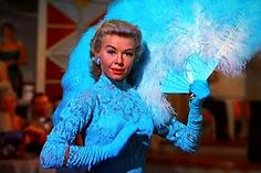 """Vera Ellen in """"White Christmas"""" in lace overlay cocktail dress"""