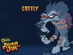 Animal Jam Backgrounds | Ok, I admit it. My wolf has a secret crush on Greely.