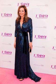 Allison Janney In Jenny Packham – 'I, Tonya' London Premiere