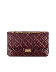 Chanel F/W 13 Burgundy Reissue 2.55 Flap 227 Bag $5300