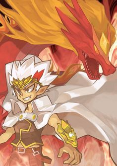 L-Drago is the new igneel and ryuga is the new nastu