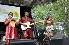 Amadou & Mariam at SummerStage 2012
