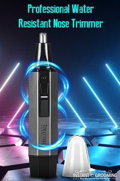 Bright 2019 New Professional Water Resistant Nose And Ear Hair Trimmer For Women And Men With Modern Design Nose & Ear Trimmer