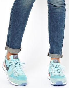 Nike Internationalist Blue Trainers