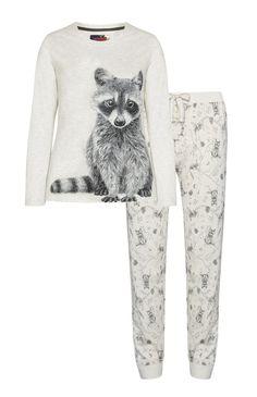Pyjama raton-laveur
