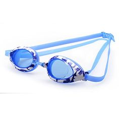 WinMax Junior Swimming Goggles for Teenage Boys  Girls blue * More info could be found at the image url.Note:It is affiliate link to Amazon.
