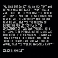 Cute and so good :) -Gordon b hinckley