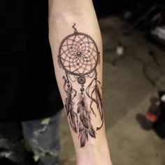 Dreamcatcher Tattoo by Kyoung Mi ZO