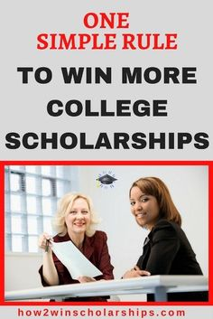 Use this One Simple Rule to Win More College Scholarships from the #ScholarshipMom at how2winscholarships.com #college #scholarships #scholarshiptips #payingforcollege #collegecash #education #university #highered #scholarship #highschool #moneyforschool #collegebound #debtfree #financialaidforcollege #teens #tweens Financial Aid For College, Scholarships For College, Education College, College Students, School Scholarship, College Planner, Graduate School, Student Loans, Weekly Planner
