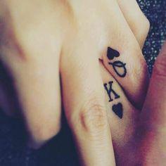 Cuando ya se puso en serio el asunto…   21 Adorables ideas para hacerte un tatuaje con tu pareja