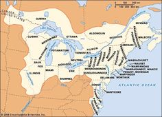 Map of virginia tribes in the pastnks to a lot of infor for map showing the distribution of the northeasternmost eastern woodlands indians showing the huron north of sciox Images