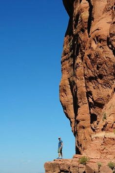 On the edge....Cathedral Rock.