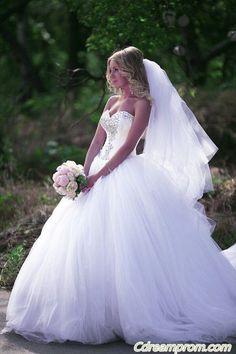 princess wedding dress #princess #wedding dresses