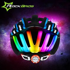 ROCKBROS Bicycle Helmet Ultralight Safety MTB Mountain Road Downhill Bike Accessories Cycling Helmet LED Light Capacete Ciclismo-in Bicycle Helmet from Sports & Entertainment on Aliexpress.com | Alibaba Group