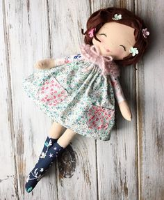 "Rag Dolls by SpunCandy SpunCandy Dolls ~ Omaha, NE (@spuncandydolls) on Instagram: ""I think I'm in need of making more of these wild-haired little wanderers I just love their…"""