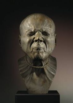 """""""Franz Messerschmidt (1736 – 1783) was a German-Austrian sculptor most famous for his """"character heads"""", a collection of busts with faces contorted in extreme facial expressions."""""""