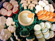 Detailed Vegetable Platter Cookies sugar by Julie Fancy Cookies, Cut Out Cookies, Iced Cookies, Cute Cookies, Easter Cookies, Sugar Cookies, Carrot Cookies, Frosted Cookies, Fruit Cookies