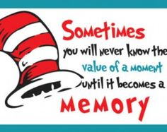 950a787b7db6e Printable Dr. Seuss Party Quote Sig ns - 3 pack .