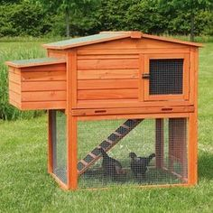 2-Story Chicken Coop with Outdoor Run | Overstock.com Shopping - The Best Deals on Other Pet Houses