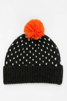 cfd4b8b6f9d Perfectly cozy pompom beanie.  urbanoutfitters Kids Hats