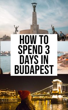 Complete Guide Of The Best Things To Do in Budapest in 3 Days Complete Guide Of The Best Things To Do in Budapest in 3 Days European Travel Tips, Europe Travel Guide, European Destination, Travel Guides, Travel Destinations, European Trips, Budapest Travel Guide, Romantic Destinations, Travel Advice
