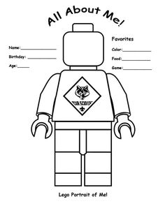 Everything is awesome about cub scouts lego coloring for Tiger cub scouts coloring pages
