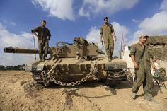 Gaza Strip: Israel calls up 16,000 extra reservists