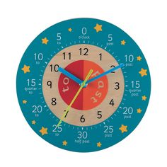 Teaching Clock - Pink : Teaching Clock - Pink : Early Learning Centre UK Toy Shop